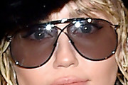 Miley Cyrus Aviator Sunglasses