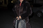 Beverley Knight Fur Coat