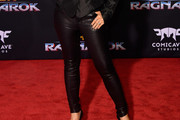 Ming-Na Wen Leather Pants