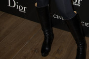 Heather Matarazzo Knee High Boots