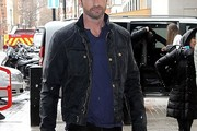 Gerard Butler Zip-up Jacket