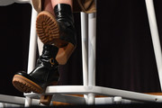 Emily Blunt Motorcycle Boots