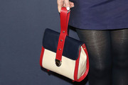 Zooey Deschanel Leather Purse
