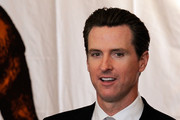 Gavin Newsom Short Straight Cut