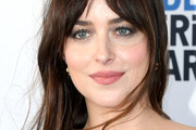 Dakota Johnson Long Straight Cut with Bangs