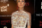 Greta Gerwig Fitted Blouse