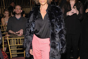 Lisa Rinna Fur Coat