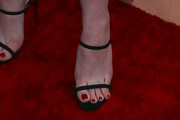 Dakota Fanning Strappy Sandals