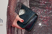 Vanessa Williams Leather Clutch