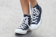 Kaia Gerber Canvas Sneakers