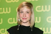 Allison Mack Medium Straight Cut