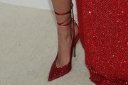Josephine Skriver Evening Pumps