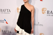 Rosamund Pike One Shoulder Dress