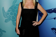 Angela Kinsey Little Black Dress