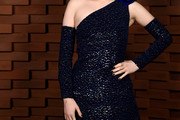 Ellie Bamber One Shoulder Dress
