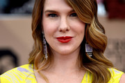 Lily Rabe Long Wavy Cut