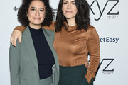 Abbi Jacobson Cowl Neck Top