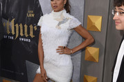 Dania Ramirez Embroidered Dress