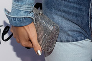 Haley Lu Richardson Metallic Clutch