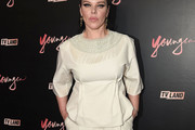 Debi Mazar Fringed Top