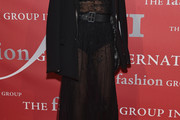 Carine Roitfeld Sheer Dress