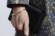 Kristin Scott Thomas Satin Clutch