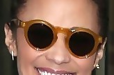Paula Patton Round Sunglasses