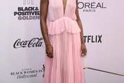 Lashana Lynch Evening Dress