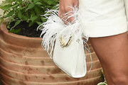 Sofia Richie Feathered Clutch