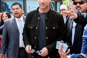 Aaron Eckhart Fitted Jacket