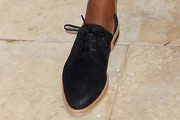 Naomie Harris Flat Oxfords
