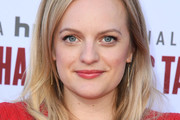 Elisabeth Moss Long Side Part