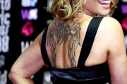 Anastacia Wings Tattoo