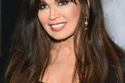 Marie Osmond Long Wavy Cut with Bangs