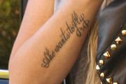 Leticia Cyrus Lettering Tattoo
