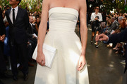 Eva Herzigova Strapless Dress