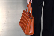 Elizabeth Debicki Leather Tote