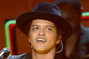 Bruno Mars Wide Brimmed Hat