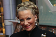 Princess Michael of Kent Bobby Pinned Updo