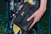 Erin O'Connor Leather Clutch