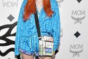 Bella Thorne Printed Shoulder Bag