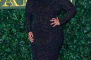 Amber Riley Beaded Dress