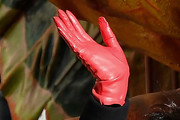 Padma Lakshmi Leather Gloves