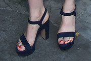 Bella Heathcote Platform Sandals