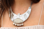 Martina Gusman Silver Statement Necklace
