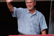 George W Bush Button Down Shirt