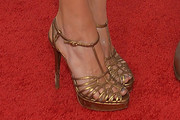 Elizabeth Chambers Strappy Sandals