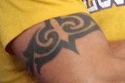 Anthony Kiedis Tribal Tattoo
