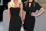 Donatella Versace Little Black Dress