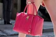 Taylor Momsen Leather Tote